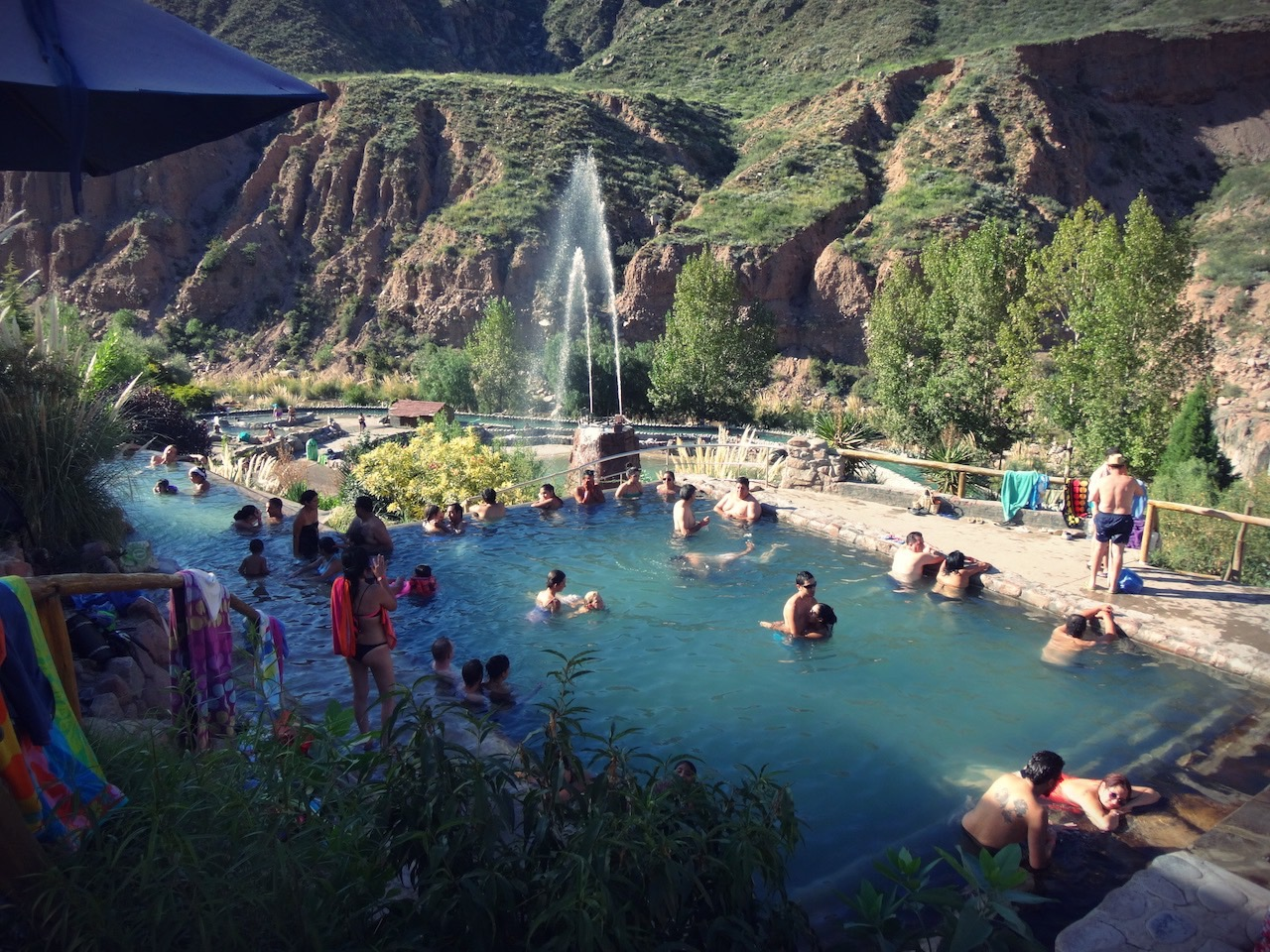 Hot Springs at Mendoza