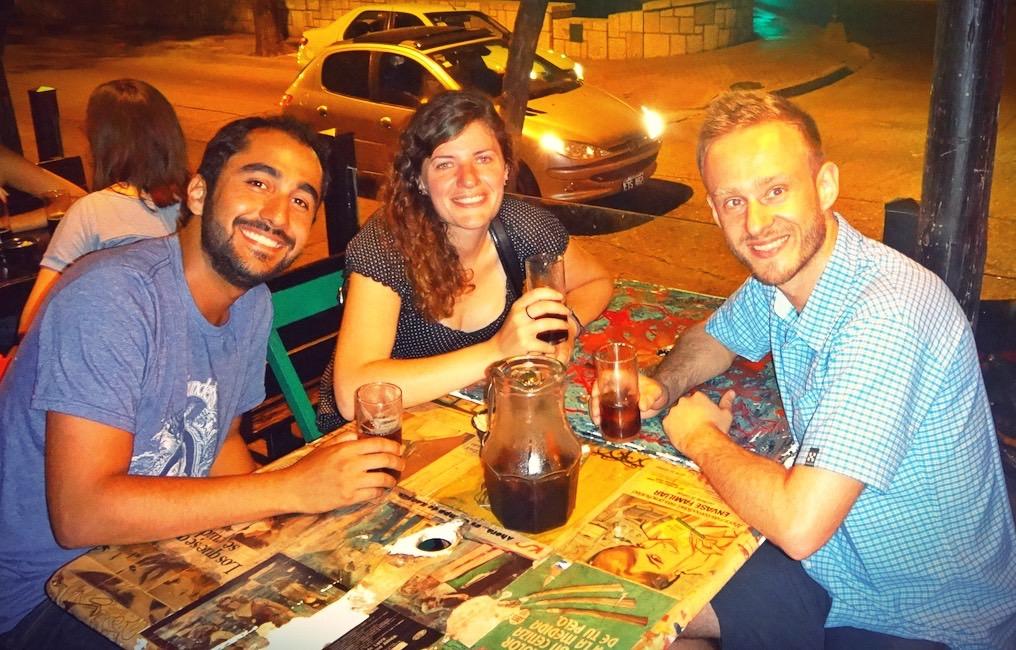 first Fernet Cola at Cordoba