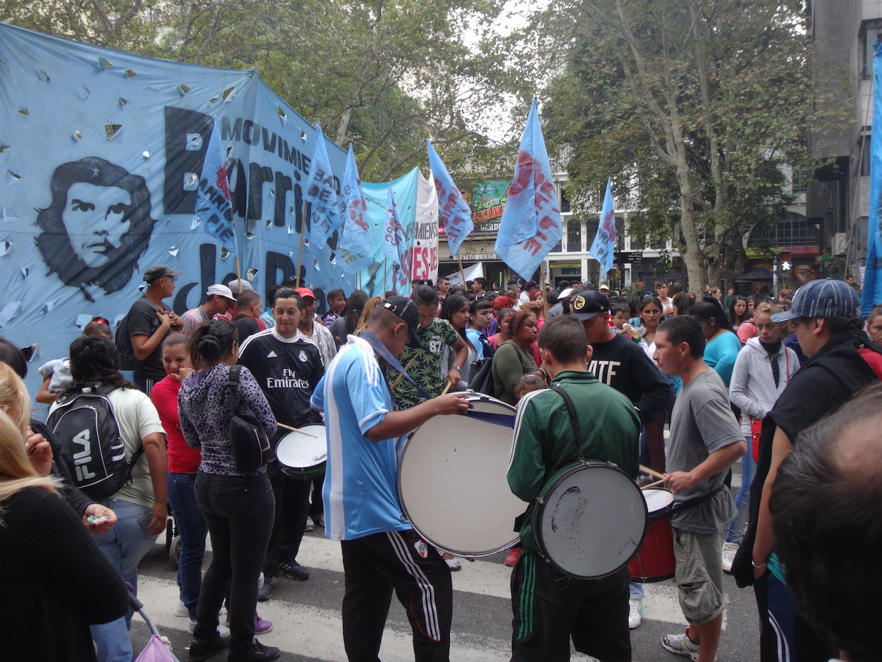 Buenos Aires - a manifestation
