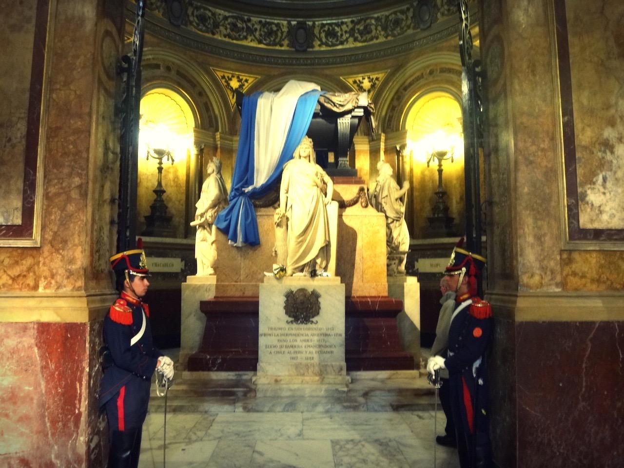 Mausoleum of the hero San Martin