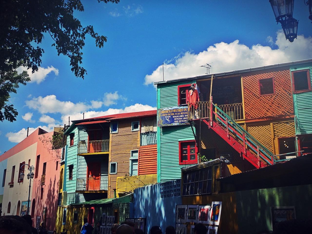 el barrio La Boca in Buenos Aires