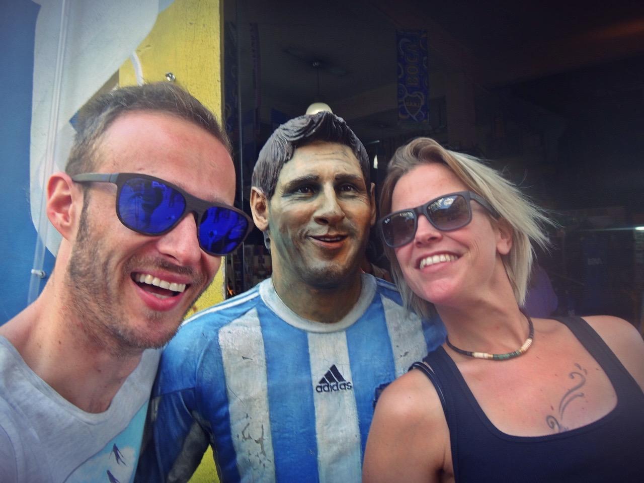 meeting Messi
