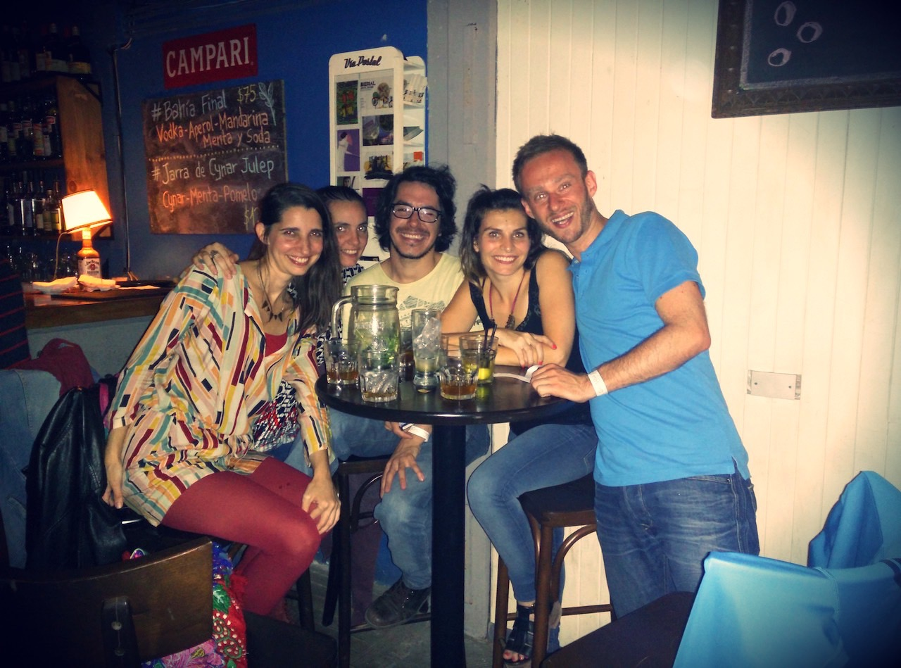party at barrio Palermo