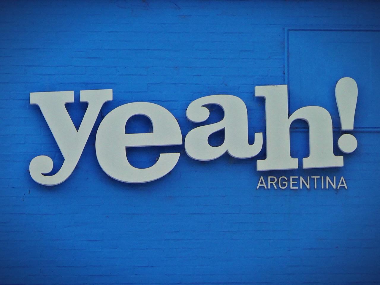 Yeah Argentina!