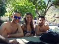 Hot Springs with Fiona and Rodolfo