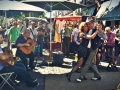 tango show at the market of San Telmo